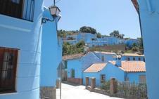 Ruta senderista en Málaga: Cartajima-Júzcar (PR-A-224)