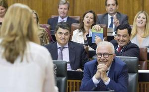 Susana Díaz acusa a Moreno de «liarla parda» con el peaje de la AP-4