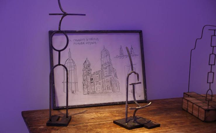 Juan Garaizábal muestra sus obras en el Palacio Episcopal