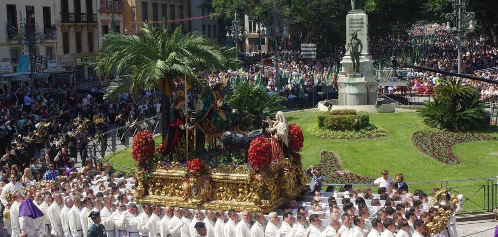 Itinerarios de las procesiones del Domingo de Ramos 2018