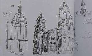 Una torre de acero para terminar la Catedral de Málaga