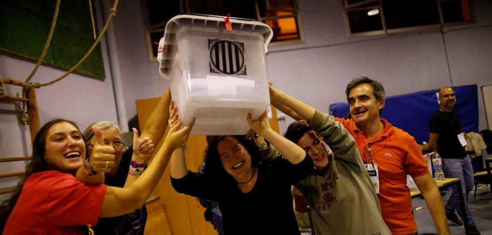 La Guardia Civil acusa a la cúpula independentista de usar «tácticas de delincuencia organizada»