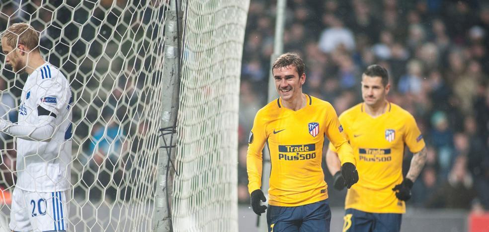 El Atlético recupera sus mejores sensaciones tras la cuesta de enero