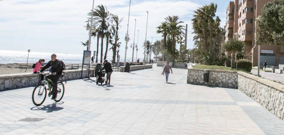 Lío en el nuevo paseo marítimo de Málaga: ¿Banderas, Pacífico, Poniente, Machado? Dónde empieza y termina cada denominación