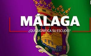 ¿Qué significa el escudo de la ciudad de Málaga?