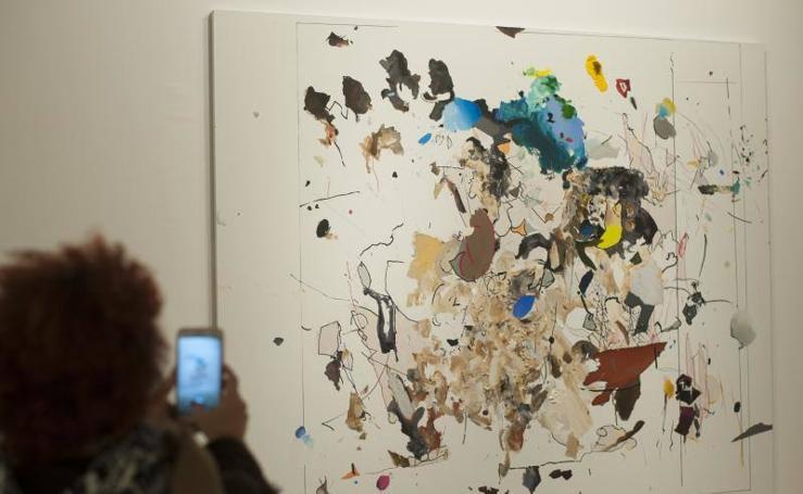 Fotos de la exposición de Secundino Hernández en el CAC Málaga
