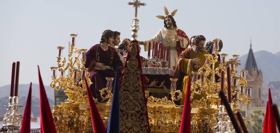 Itinerarios de las procesiones del Jueves Santo 2018