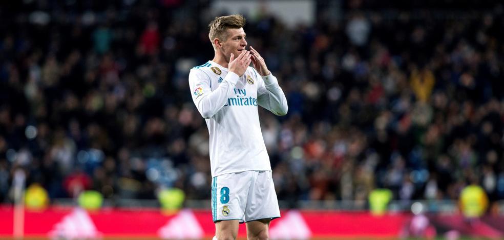Kroos, baja ante el Betis y duda para París por un esguince de rodilla