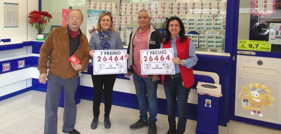 El primer premio de la Lotería Nacional reparte 300.000 euros en el Camino de Suárez en Málaga capital