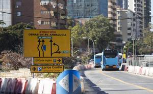 Todos los grupos municipales exigen terminar ya las obras del metro en la avenida de Andalucía