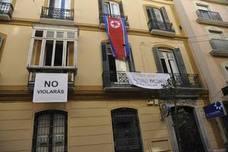 El Ayuntamiento de Málaga aprueba recuperar el uso del edificio ocupado de la Casa Invisible