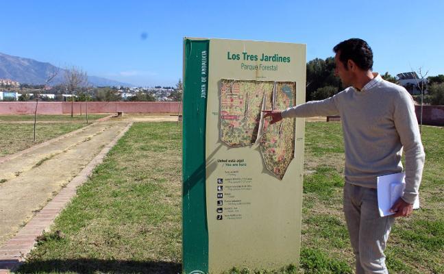 La Tenencia de San Pedro tendrá que recurrir a un servicio externo para mantener Los Tres Jardines
