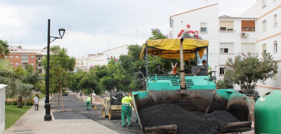 El Ayuntamiento de Estepona saca a licitación el plan de asfaltado por un millón de euros