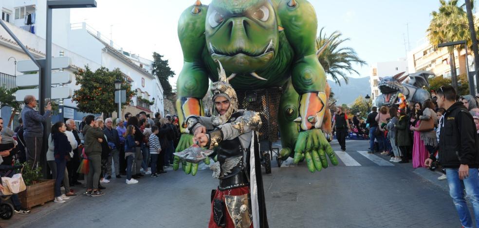 Marbella vive su carnaval en la calle