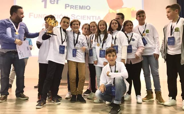 Un colegio de Archidona representará a Málaga en la final de First Lego League