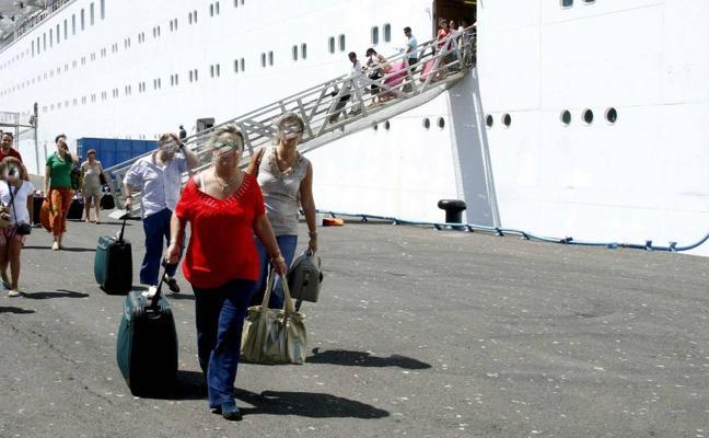La venta anticipada de viajes en cruceros crece un 50% en un solo año