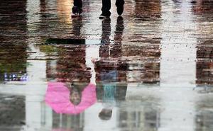 Una vaguada puede dejar chubascos este domingo en Málaga