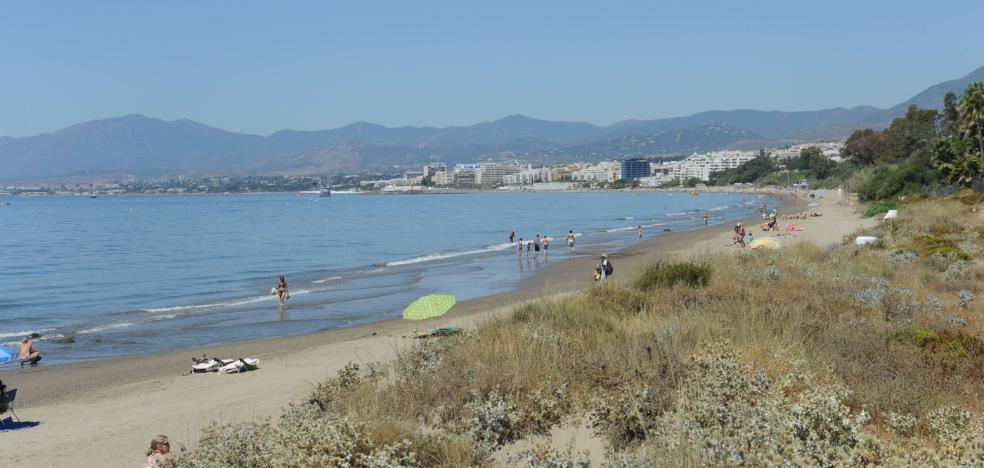 Marbella solicita a la Junta de Andalucía protección para la duna de El Pinillo