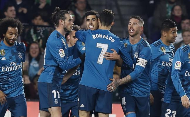 El Real Madrid gana a tiro limpio