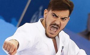 Damián Quintero, oro en la Liga Mundial de kárate