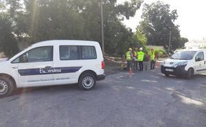 La línea eléctrica del Hospital del Guadalhorce, pendiente del acuerdo entre Endesa y Cártama