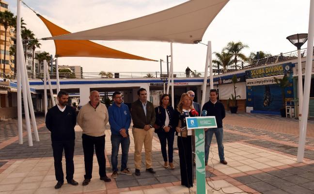 El Ayuntamiento pone en valor el Puerto Deportivo con una nueva plaza