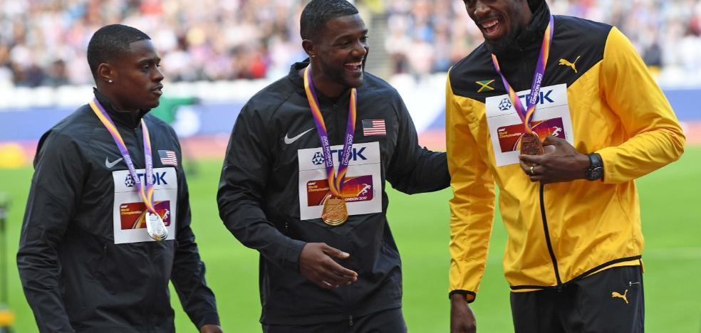Coleman, el 'hombre bala' que apunta a los récords de Usain Bolt