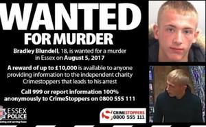 Ofrecen 11.000 euros por información sobre un británico sospechoso de asesinato huido a España