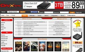 La Guardia Civil bloquea 23 webs de descarga de películas y juegos