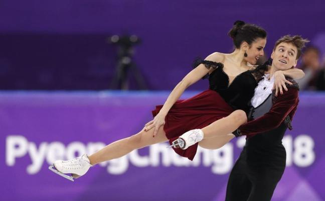 Sara Hurtado y Kirill Khaliavin finalizan en el duodécimo puesto en danza sobre hielo