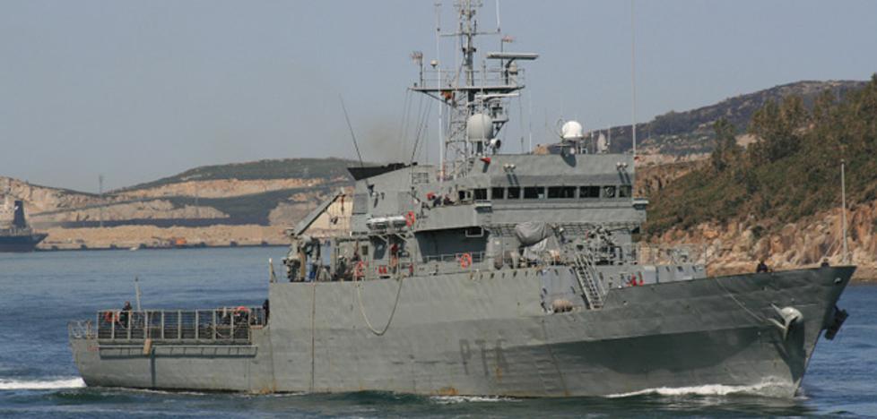 El patrullero Atalaya puede visitarse en el Puerto de Málaga