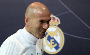 Zidane: «Estoy contento aquí y voy a pelear por estar siempre»