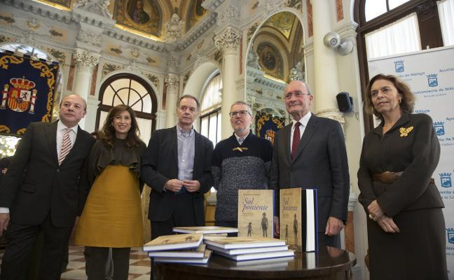 Fontana advierte que su novela 'Sol Poniente' es «un perrito asesino que muerde»