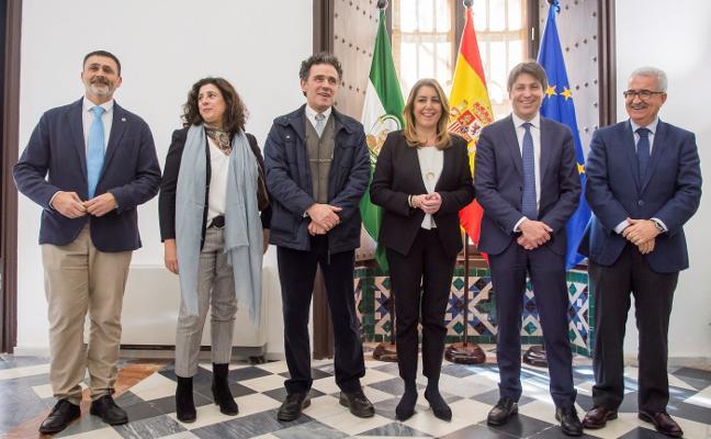 Sociedad Civil Catalana y la presidenta andaluza muestran «una gran sintonía»