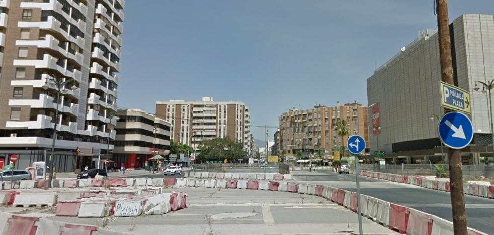 Siete heridos en un accidente de tráfico entre un autobús de la EMT y un turismo en Málaga capital