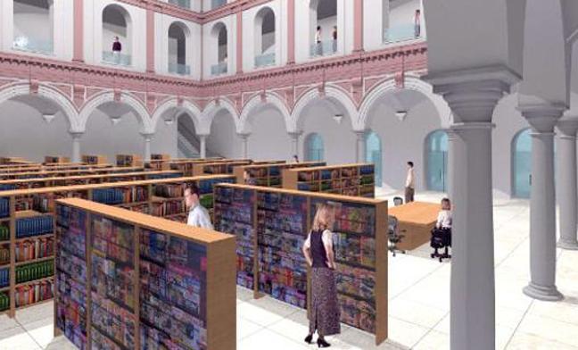 """El Parlamento andaluz reclama al Gobierno el traslado """"urgente"""" de la Biblioteca Provincial a San Agustín"""