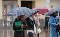 Meteorología prevé lluvias generalizadas toda la semana blanca en Málaga