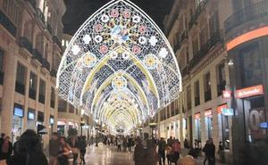 Los creadores de las luces de Navidad de la calle Larios de Málaga, medalla de Andalucía 2018