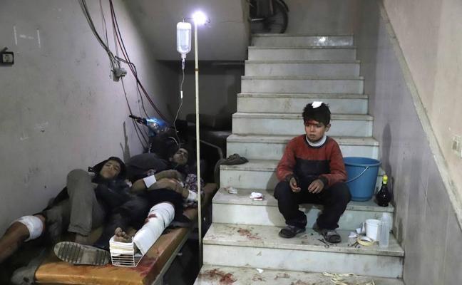 Siria revive el infierno de Alepo en Guta: «Esperamos turno para morir»