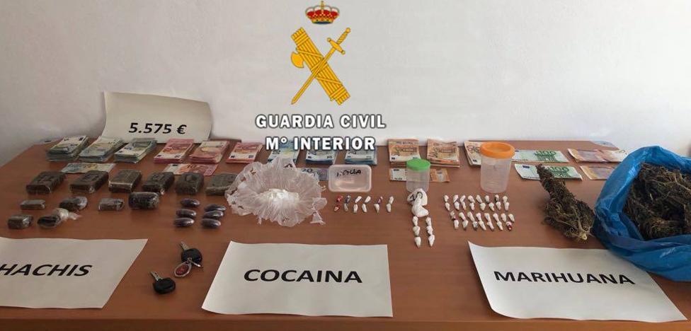 Cae en Manilva un clan familiar que vendía droga cerca de un colegio y varios parques infantiles