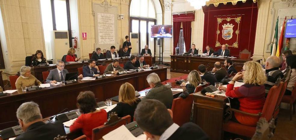 Un pleno con todos los asuntos polémicos de Málaga
