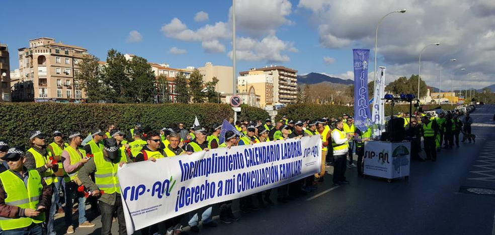 Policías locales se concentran por la conciliación