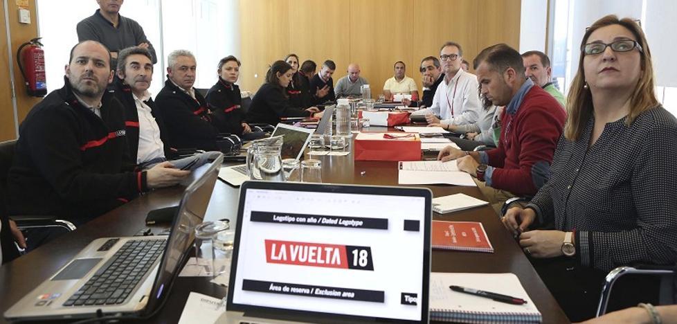 Comienzan los preparativos de La Vuelta ciclista en Málaga
