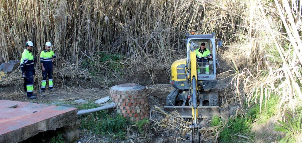 Estepona renueva el colector del arroyo Saladillo