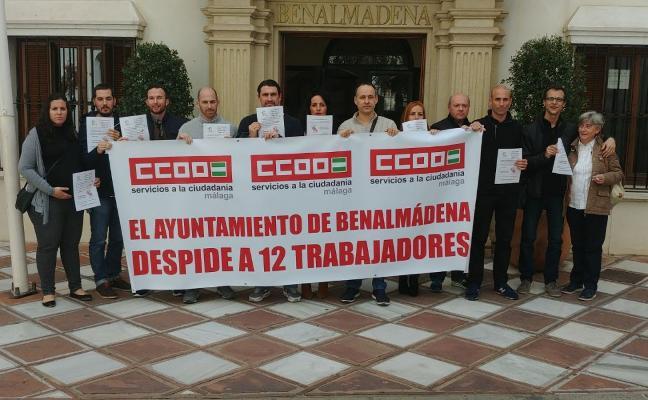 Benalmádena llevará a un pleno extraordinario la posible readmisión de 12 trabajadores
