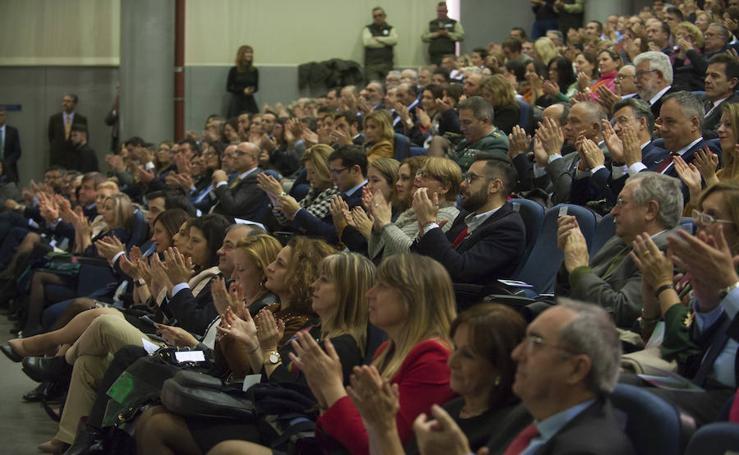 Premios Bandera de Andalucía en Málaga, en imágenes