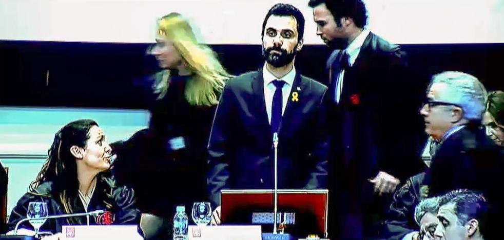 Un discurso de Torrent provoca la protesta del presidente del TJSC y del fiscal jefe catalán