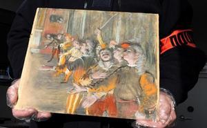 Encuentran en un autobús cerca de París un Degas robado en 2009