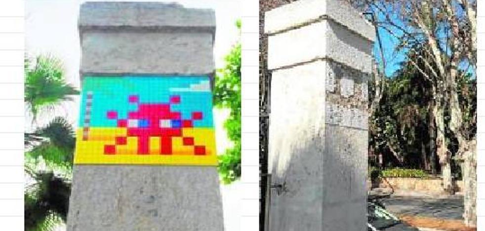 Desaparece un segundo mosaico del artista urbano Invader