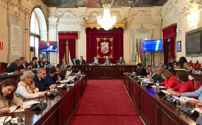 Directo   Apoyo mayoritario del pleno del Ayuntamiento de Málaga al rascacielos del Puerto